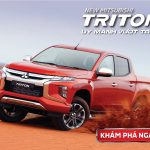 [Video] Giới thiệu chi tiết mẫu xe Mitsubishi Triton 4×2 AT MIVEC